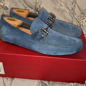 Men's Salvatore Ferragamo driver shoes